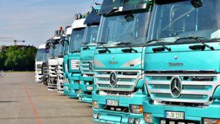 トラック(小型・中型・大型)のサイズ、形状と種類、積載量での区分と特徴_アイキャッチ