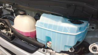 事業用自動車・トラックの日常点検:冷却水量とブレーキ液量の点検_アイキャッチ