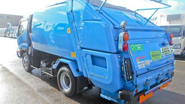 パッカー車(ゴミ収集車・塵芥車)の種類、価格と取扱い方法_アイキャッチ