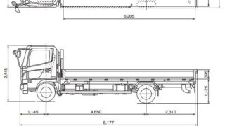 トラックの種類と寸法サイズ(高さ/長さ/幅)、形状、荷台積載量_アイキャッチ