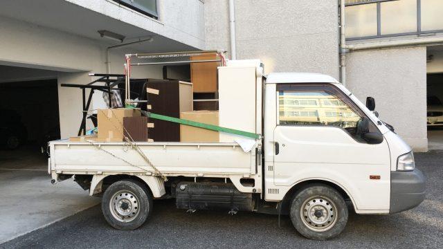 軽トラックの荷台からはみ出して良い長さは?軽トラの最大積載寸法がまるわかり